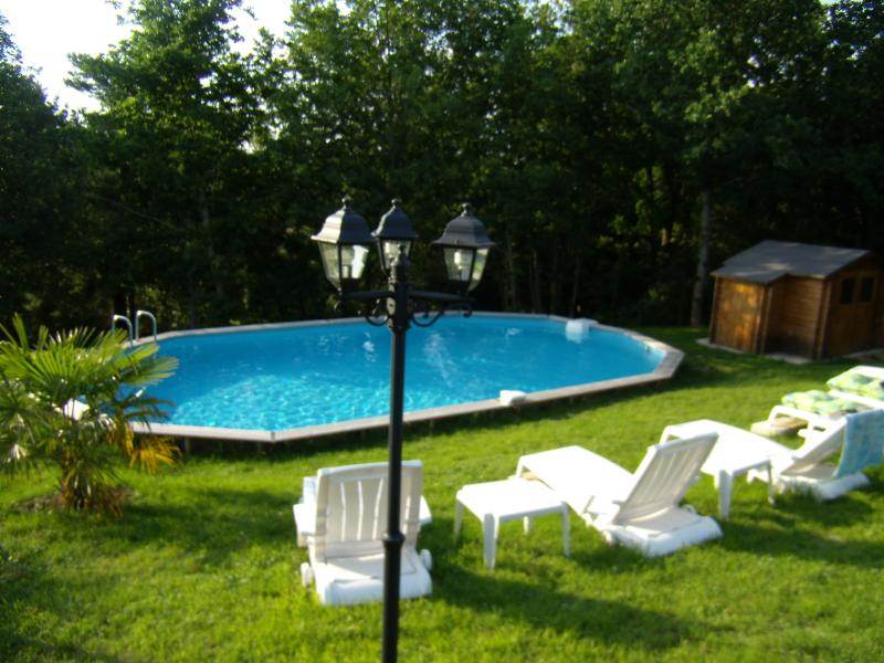 The Pool heated between May & September