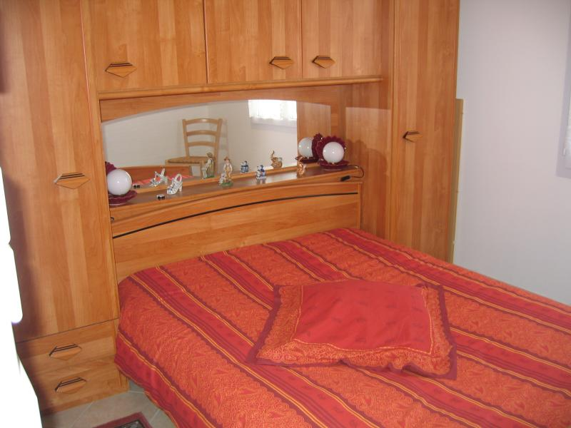 bedroom of the first living accommodation
