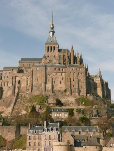Nearby Mont St Michel, about 40mins drive from the Gite