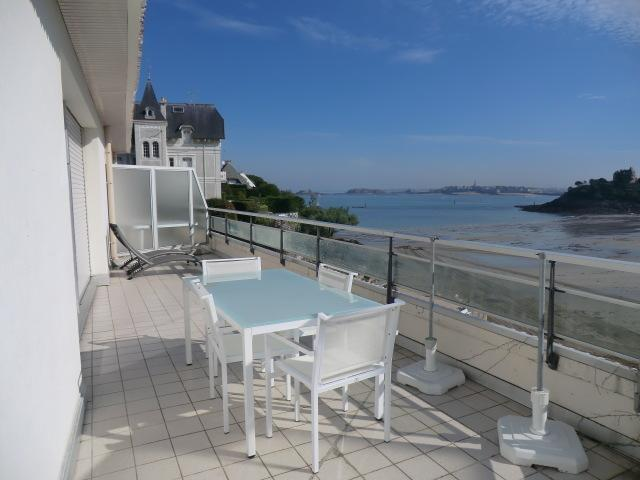 Apartment 3 rooms 58 m² - sea - apartment 402 - equipped balcony view