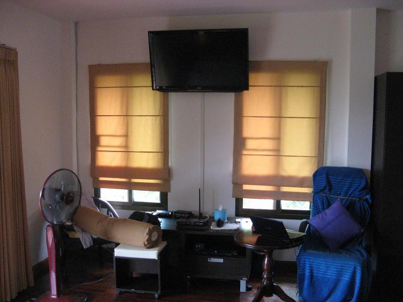 TV en el dormitorio principal