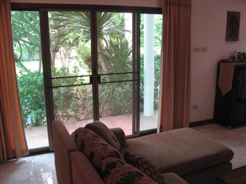 Living Room Garden View