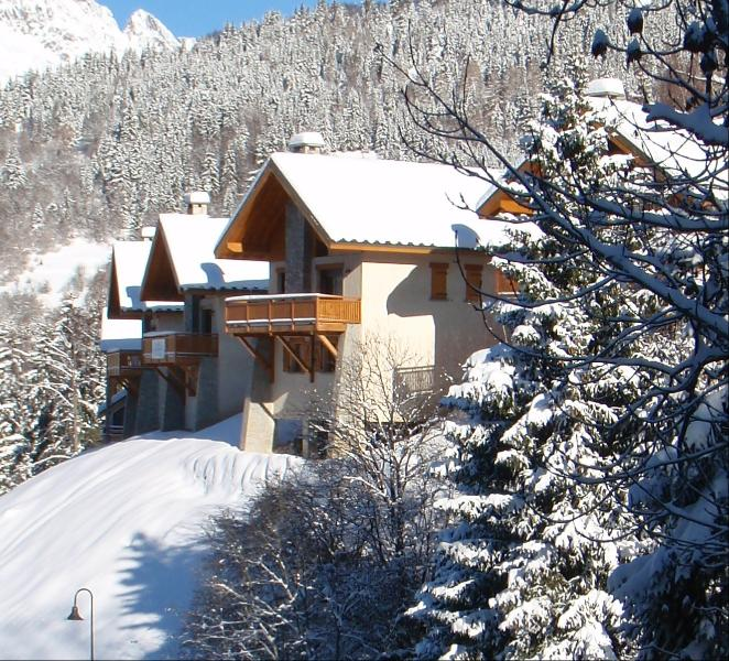 The outside of the chalet