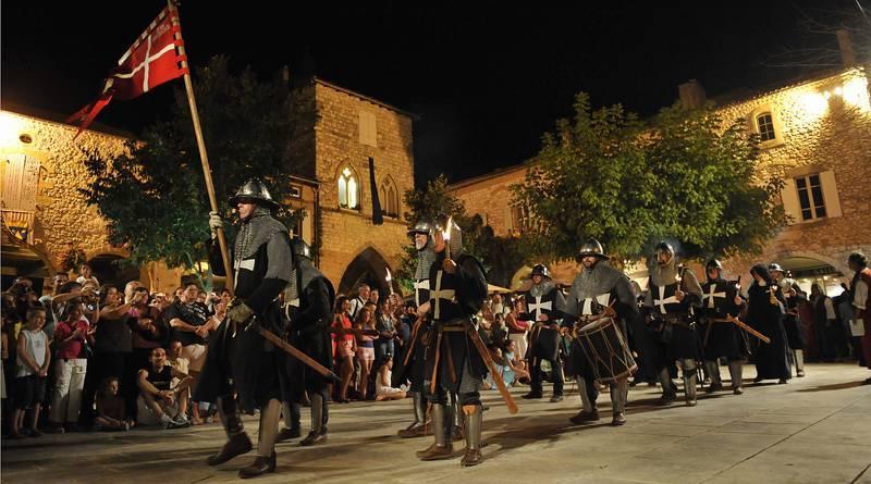 Medieval festival in Monflanquin