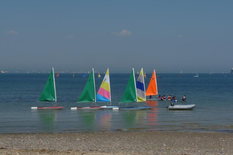 Sailing from the beach near Kokota#54