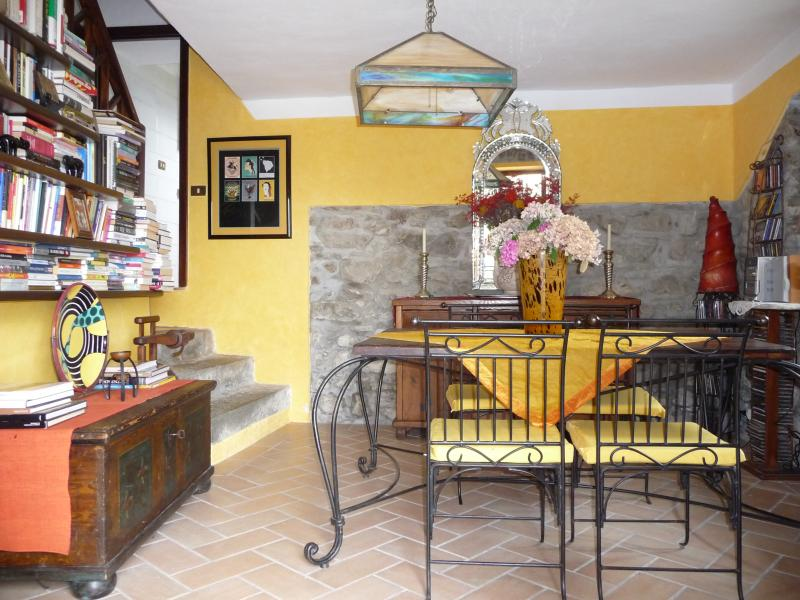 Dining room of Casa Michele