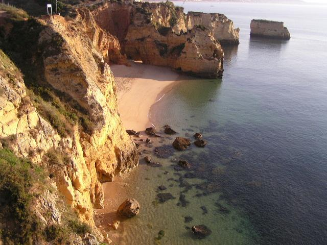 Breathtaking Dona Ana beach, 5 min stroll from our apartment making multiple visits easy