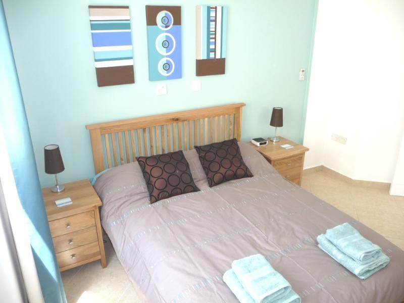Large master bedroom has plenty of wardrobe space