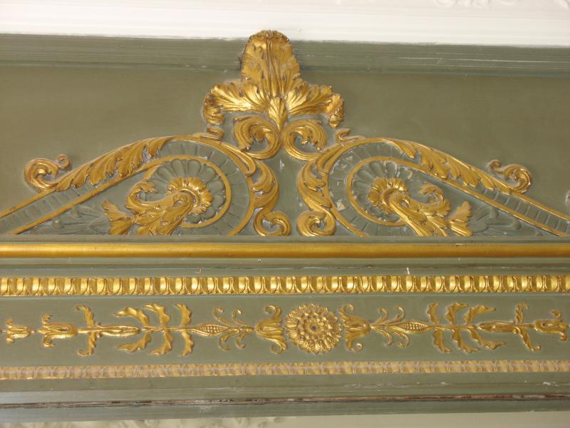 Pier glas spiegel detail