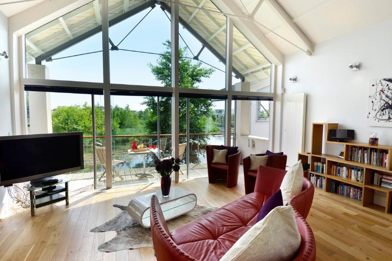 Clearwater 86 magnificent south facing detached lakeside house on Lower Mill Estate