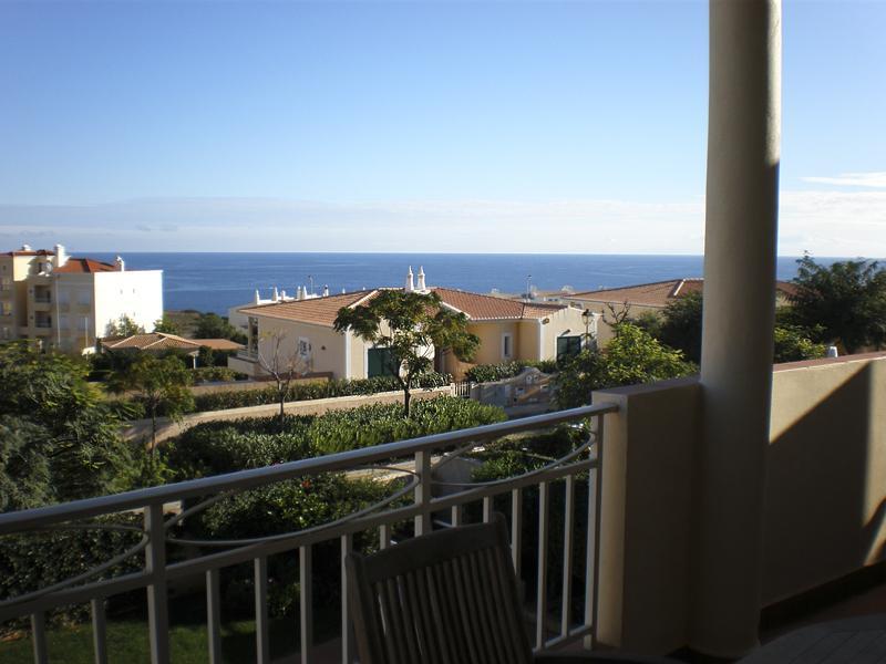 The veranda has fabulous sea views!