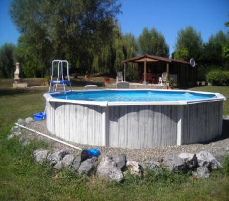 5 meter diameter above ground pool