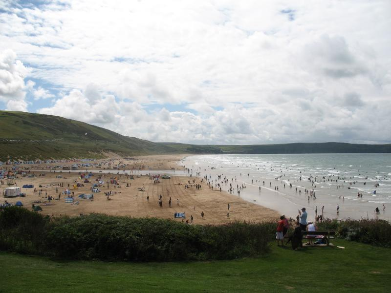 Beautiful Woolacombe sands 15 minutes by car. Voted 5th best beach in Europe!!