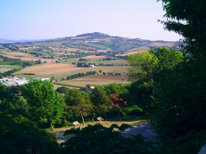 A view from the medieval Castle of Gradara - only 35 minutes drive away
