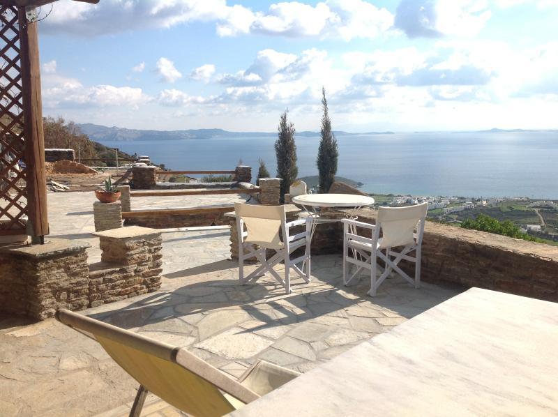 suite Delos, Veranda panoramic  view