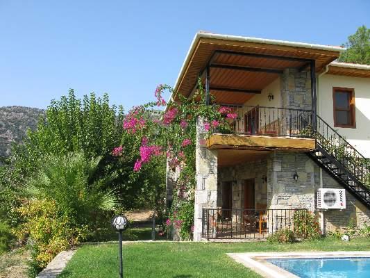 spacious veranda and balcony atCicek