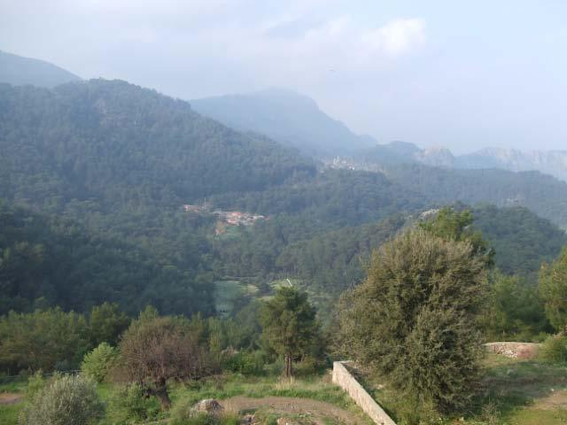 View from the balcony over Lower Gokbel