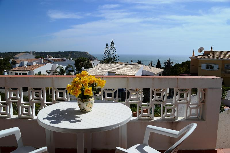 Sea view from the lounge terrace