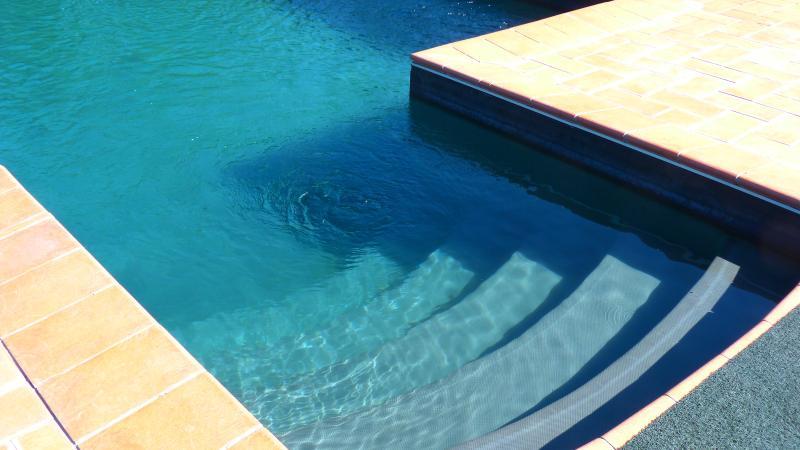 L'entrata della piscina