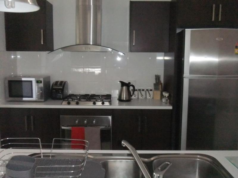 Modern and up to date fully equipped kitchen