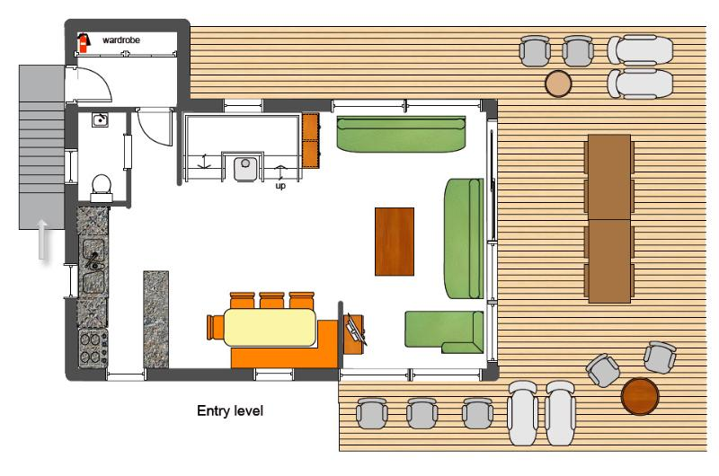 Floorplan Entry level