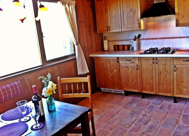 The Kitchen & Dining Area at The Stables