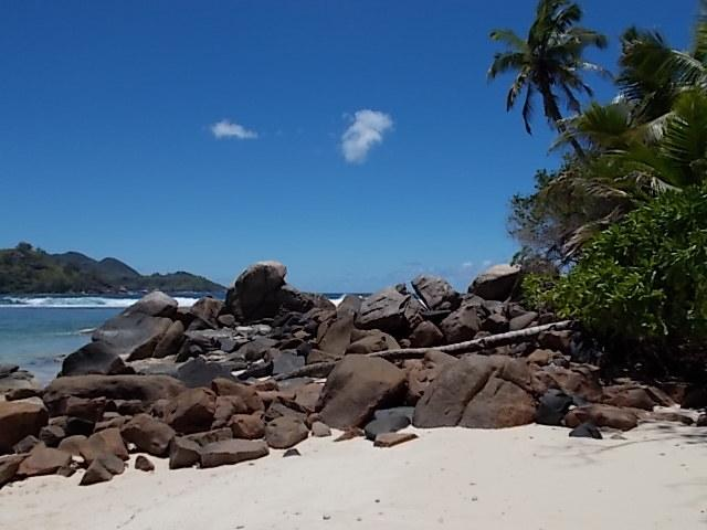 Pequeno isolado Sandy Beach