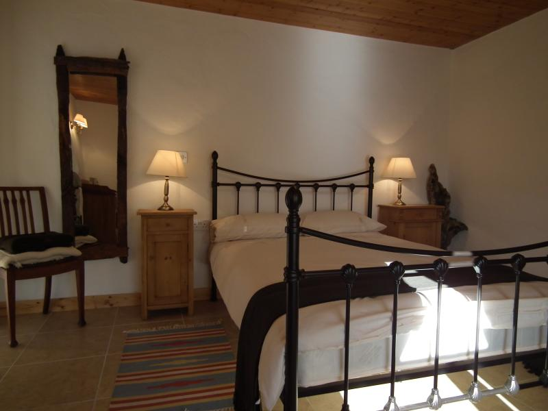 Master double bedroom within Pollán Rua Cottage