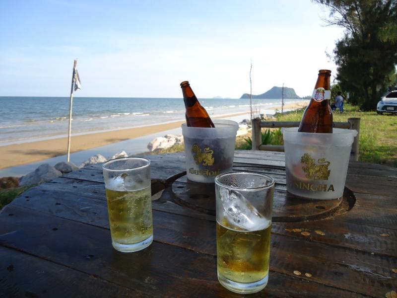 Some refreshment on Khao Kalok beach?