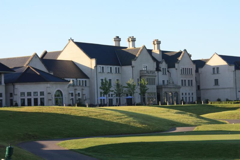 View of Lough Erne Hotel