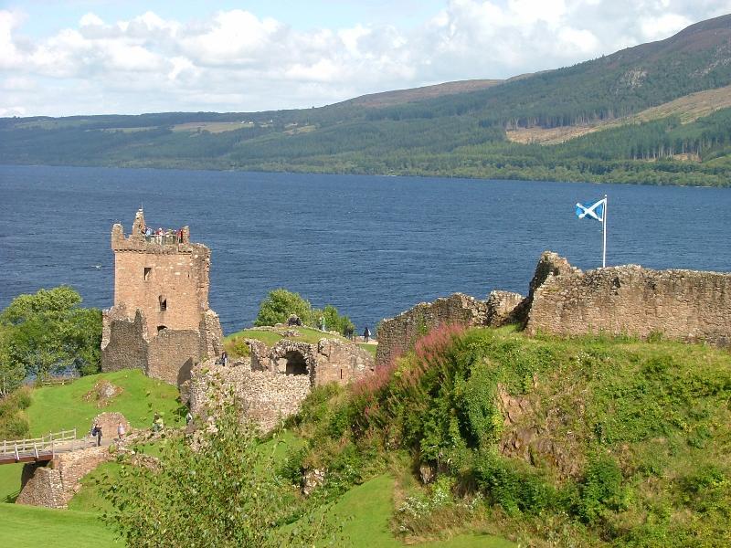 Urquart château, Loch Ness