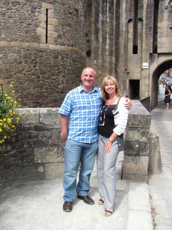 Sus anfitriones - Pat & Ian