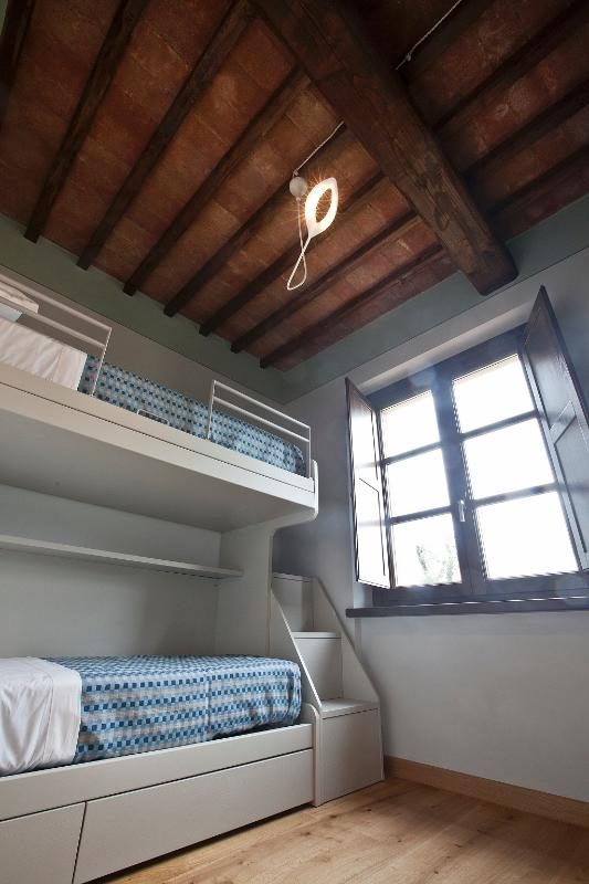 dormitorio con litera