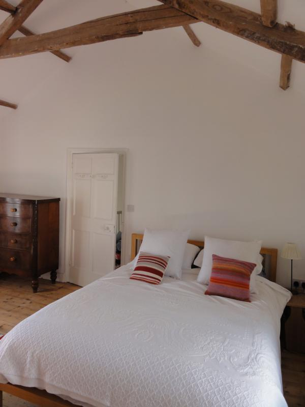 double bedroom 1 (duvets and pillows provided but bring your own linen)