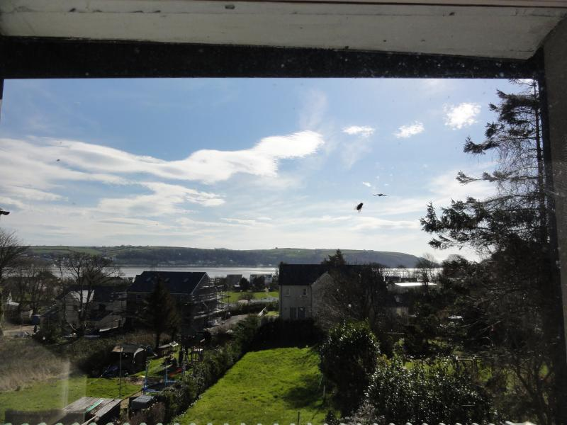 View from the house to the glorious coast