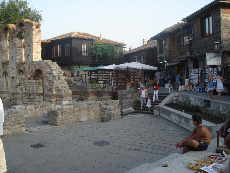 The old town of Nessebar is must see for visitors to the area