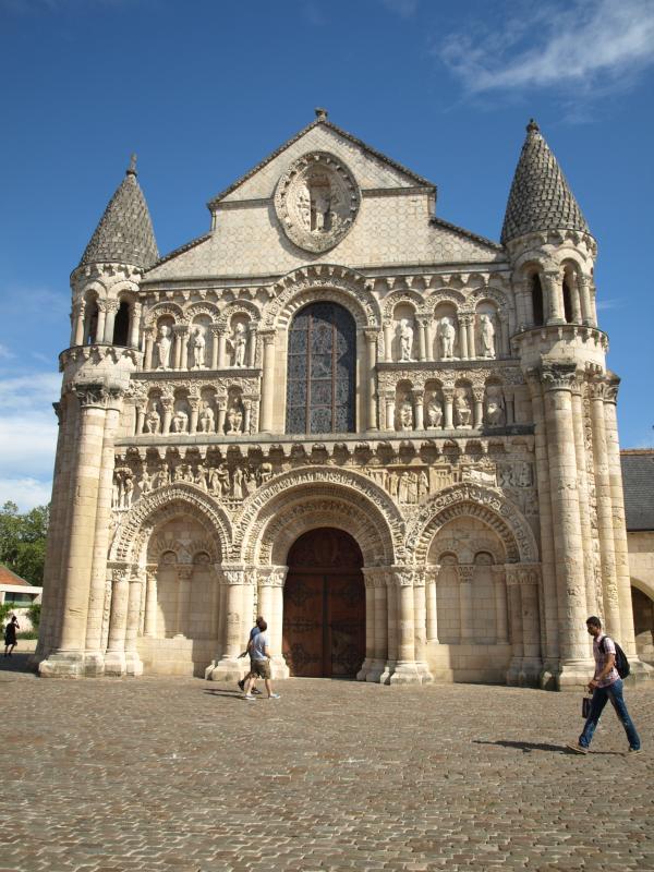Église Notre dame la Grande, Poitiers