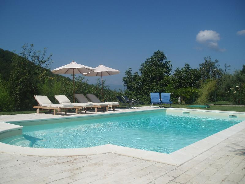 18th centruy Tuscan farmhouse with swimming pool,, casa vacanza a Minucciano