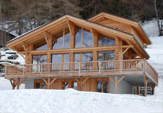 Chalet Chambord nestles in the heart of the world-class 4-Valleys ski region