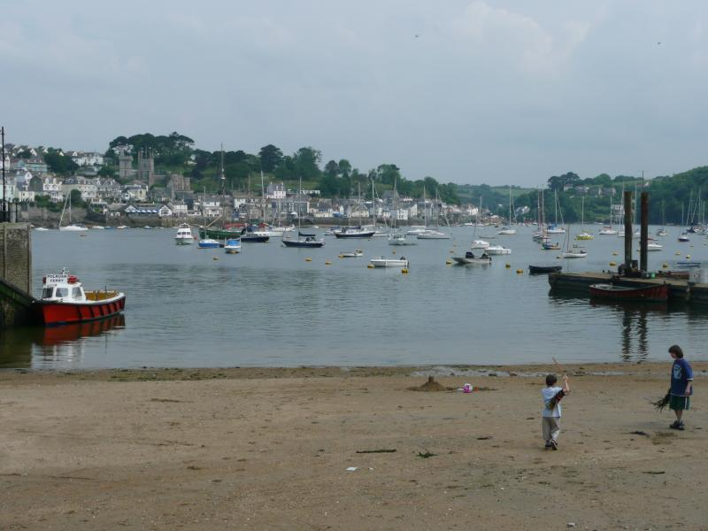 Beach in front of Quayside House
