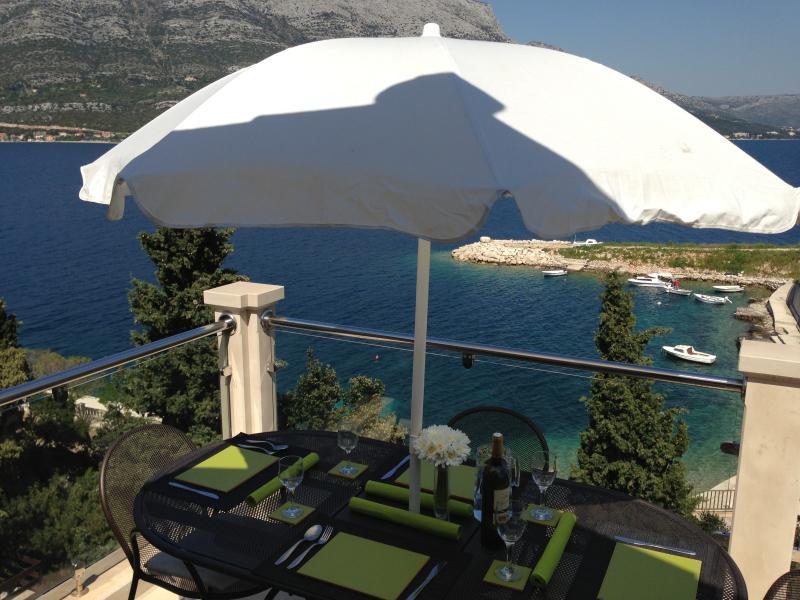 AtticTerrace with beautiful sea views