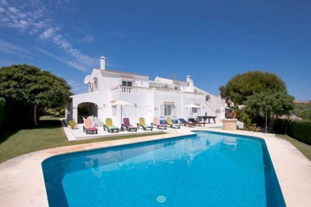 VILLA SAVANNA MENORCA ((WIFI,BBQ,ROOMS A.A.POOL,PISCINA), vacation rental in Ciutadella