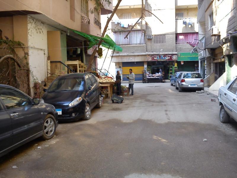 Street outside apartment