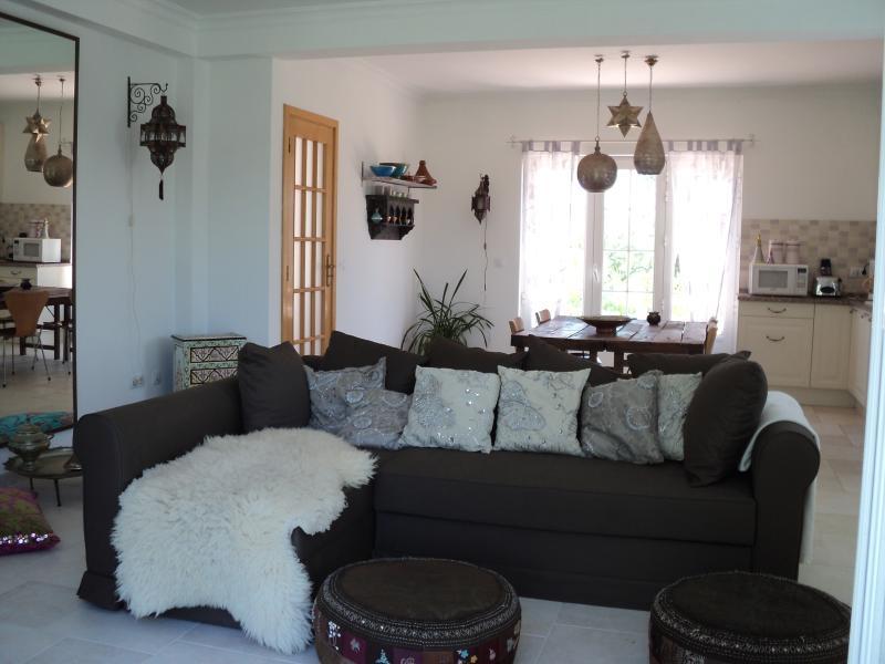 livingroom with sleepingcouch