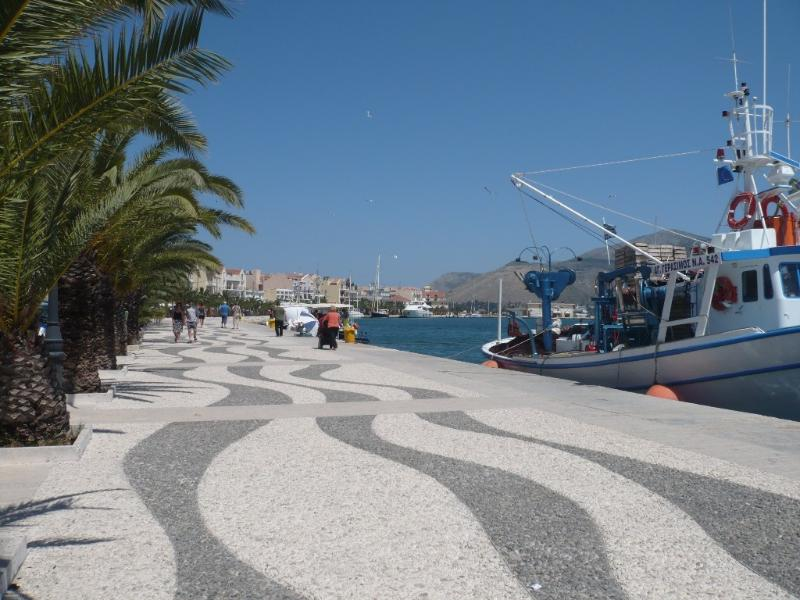 The promonade at Argostoli