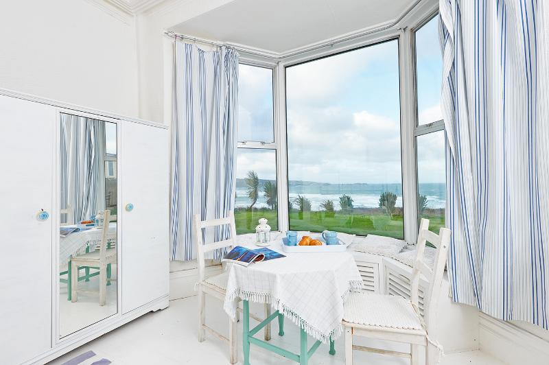 Situated right on the finest beach in Cornwall