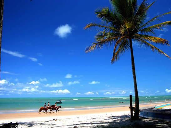 horseback ride on the beaches of Porto Seguro