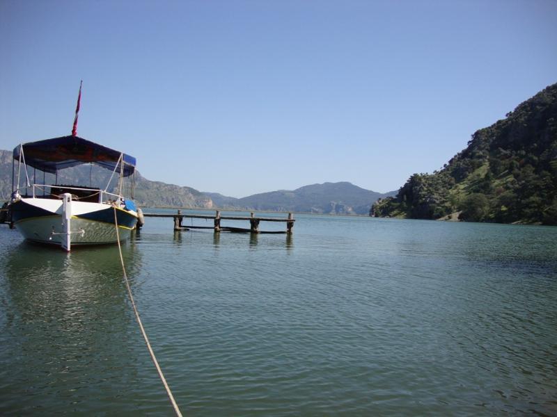 Dalyan River at Candir, Dalyan