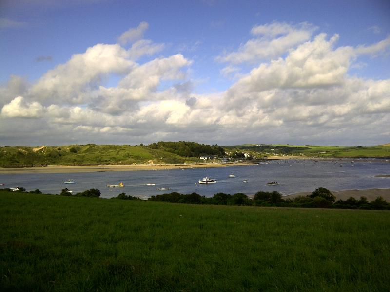 Local View 5 min Walk away from the property looking across the estuary towards Rock.