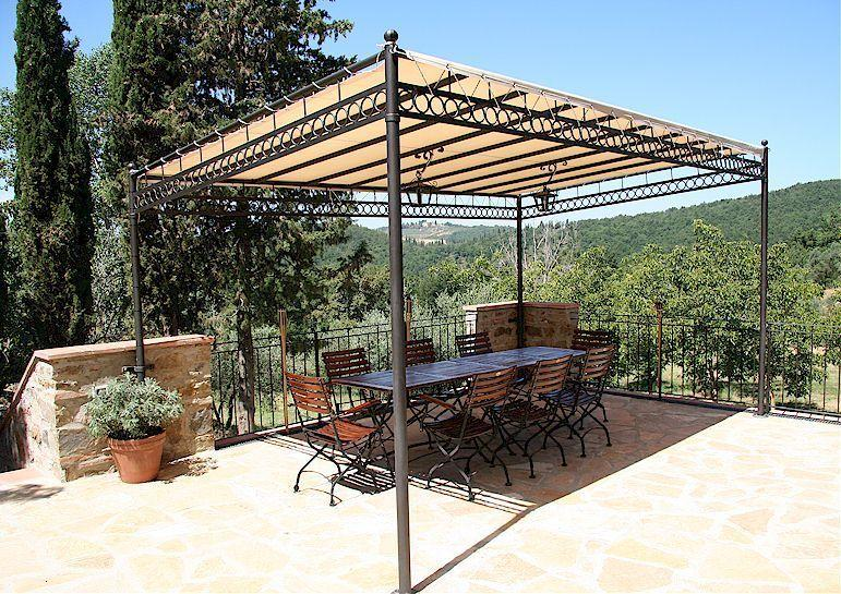 Agriturismo Sommassa terrace with view